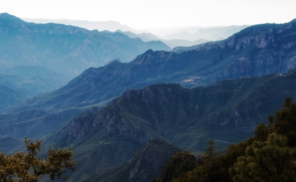 Mexico's Copper Canyon - canyon view