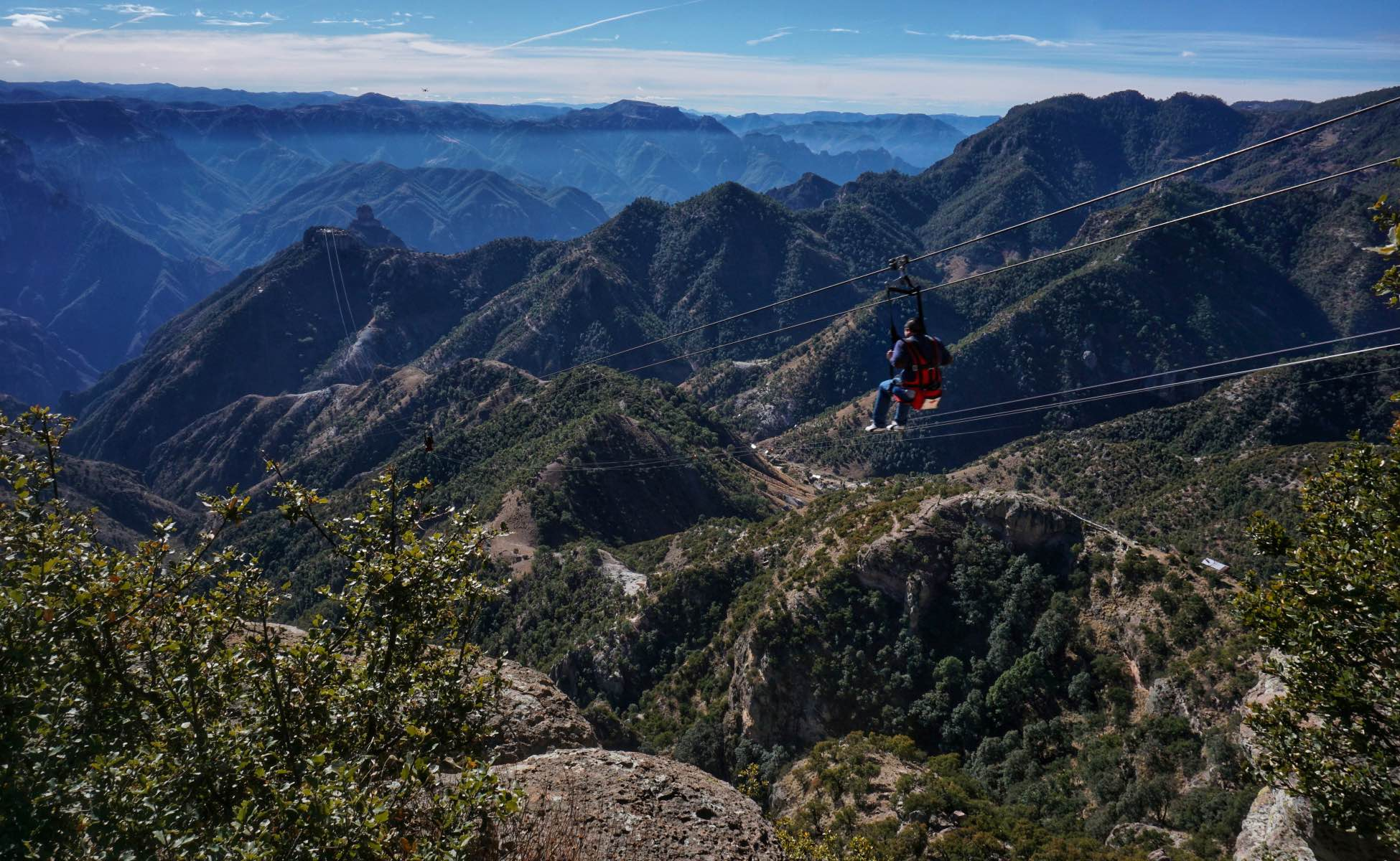 Mexico's Copper Canyon - Zip Line