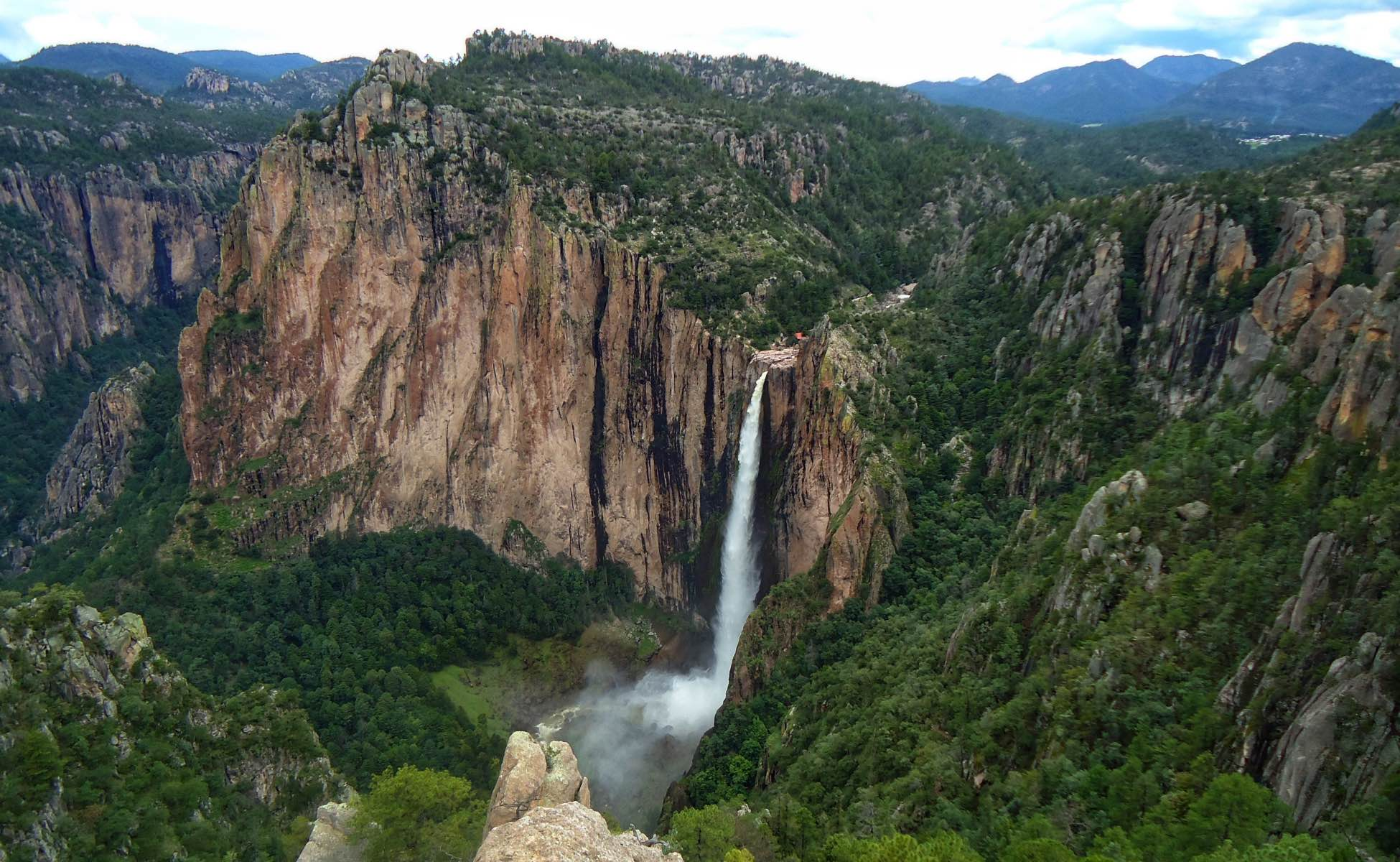 Mexico's Copper Canyon - Waterfall